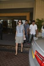 Kangana Ranaut snapped as she leaves JW Marriott after a family brunch on 31st Dec 2015