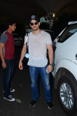 Sooraj Pancholi snapped at airport on 31st Dec 2015