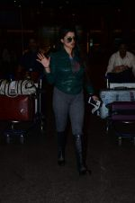 Kainaat Arora snapped at airport on 1st Jan 2016