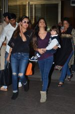 Gauri Khan snapped at airport on 2nd Jan 2016