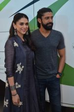 Aditi Rao Hydari, Farhan Akhtar at Wazir press meet on 3rd Jan 2016