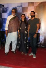 Amitabh Bachchan, Farhan Akhtar and Aditi Rao Hyadri at Wazir press meet on 3rd Jan 2016