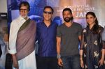 Amitabh Bachchan, Farhan Akhtar, Aditi Rao Hydari, Vidhu Vinod Chopra at Wazir press meet on 3rd Jan 2016 (85)_568a26ac61941.JPG