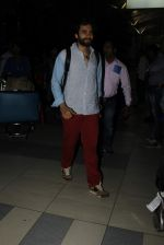 Jackky Bhagnani snapped at domestic airport on 3rd Jan 2016