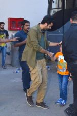 Ranbir Kapoor snapped on the sets of his film at Mehboob on 3rd Jan 2016
