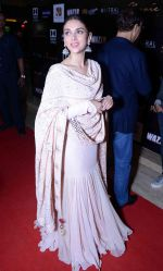 Aditi Rao Hydari at Wazir screening in Delhi on 5th Jan 2016