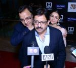 Aditi Rao Hydari, Vidhu Vinod Chopra, Bejoy Nambia at Wazir screening in Delhi on 5th Jan 2016
