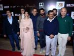 Aditi Rao Hydari, Vidhu Vinod Chopra, Farhan Akhtar, Bejoy Nambiar, Arvind Kejriwal at Wazir screening in Delhi on 5th Jan 2016