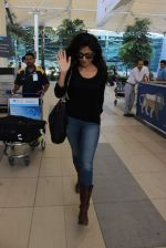 Chitrangada Singh snapped at the airport on 5th Jan 2016