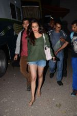 Shraddha Kapoor snapped at Mehboob on 5th Jan 2016