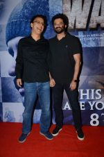 Anil Kapoor, Vidhu Vinod Chopra at Wazir screening in Mumbai on 6th Jan 2016