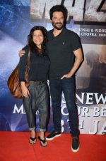 Anil Kapoor, Zoya Akhtar at Wazir screening in Mumbai on 6th Jan 2016