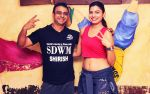 Avani Modi with _Bokwa_ Fitness Expert Shirish Thakkar