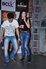 Claudia Ciesla at Box Cricket League on 6th Jan 2016