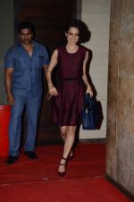 Kangana Ranaut at Wazir screening in Mumbai on 6th Jan 2016