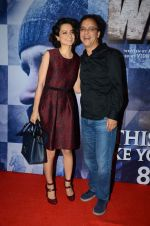Kangana Ranaut, Vidhu Vinod Chopra at Wazir screening in Mumbai on 6th Jan 2016