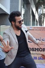 Rithvik Dhanjani at Drishti college festival on 6th Jan 2016