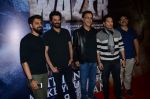 Sachin Tendulkar, Anil Kapoor, Vidhu Vinod Chopra, Bejoy Nambiar at Wazir screening in Mumbai on 6th Jan 2016
