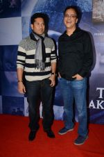 Sachin Tendulkar, Vidhu Vinod Chopra at Wazir screening in Mumbai on 6th Jan 2016