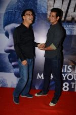Vidhu Vinod Chopra, Sharman Joshi at Wazir screening in Mumbai on 6th Jan 2016