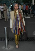 Jaya Bachchan snapped at domestic airport on 7th Jan 2016