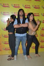Jugni star cast at radio mirchi on 7th Jan 2016