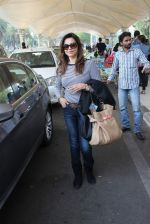 Lillete Dubey snapped at domestic airport on 7th Jan 2016 (16)_568f697308e50.JPG