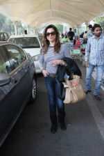 Lillete Dubey snapped at domestic airport on 7th Jan 2016 (17)_568f6973d98fa.JPG