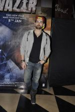 Neil Mukesh at Wazir screening in Mumbai on 7th Jan 2016