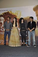Palak Muchhal, Mawra Hocane, Harshvardhan Rane, Ankit Tiwari at Sanam Teri Kasam music launch on 7th Jan 2016 (65)_568f6d16c6327.JPG