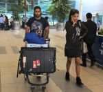Rhea Chakraborty,Akhil Kapur snapped at domestic airport on 7th Jan 2016 (35)_568f69fe42570.JPG