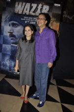 Vidhu Vinod Chopra at Wazir screening in Mumbai on 7th Jan 2016