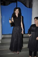 Kalki Koechlin gets her trophy delivered by Sonam at Olive on 8th Jan 2016