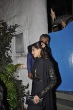 Sonam Kapoor at Olive on 8th Jan 2016