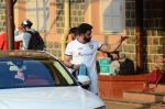 Abhishek Bachchan snapped at soccer practise on 10th Jan 2016