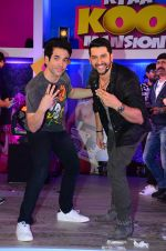 Aftab Shivdasani, Tusshar Kapoor at Kya Kool Hain Hum 3 promotions in Mumbai on 9th Jan 2016 (50)_5693944390800.JPG