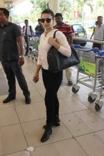 Ameesha Patel snapped at airport on 10th Jan 2016