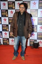 Anil Sharma at Star Screen Awards Red Carpet on 8th Jan 2016