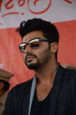 Arjun Kapoor at RTO office in Thane on 10th Jan 2016