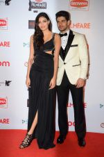 Athiya Shetty, Sooraj Pancholi at Filmfare Nominations red carpet on 9th Jan 2016