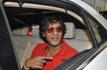 Chunky Pandey at Farah Khan