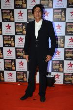 Chunky Pandey at Star Screen Awards Red Carpet on 8th Jan 2016