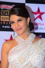 Jacqueline Fernandez at Star Screen Awards Red Carpet on 8th Jan 2016