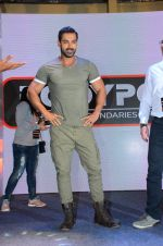 John Abraham at Fitness Expo on 9th Jan 2016