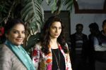 Juhi Chawla, Shabana Azmi at Chalk n Duster screening in Delhi  on 10th Jan 2016