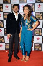 Kabir Khan, Mini Mathur at Star Screen Awards Red Carpet on 8th Jan 2016 (175)_56935e76bcbcb.JPG