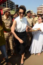 Kangana Ranaut at RTO office in Thane on 10th Jan 2016