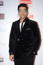 Karan Johar at Filmfare Nominations red carpet on 9th Jan 2016