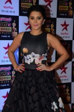 Minissha Lamba at Star Screen Awards Red Carpet on 8th Jan 2016 (287)_56935f0bc0147.JPG