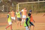 Ranbir Kapoor, Abhishek Bachchan snapped at soccer practise on 10th Jan 2016